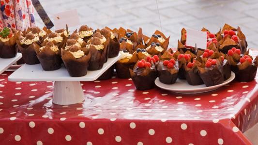 Summer cake Stall