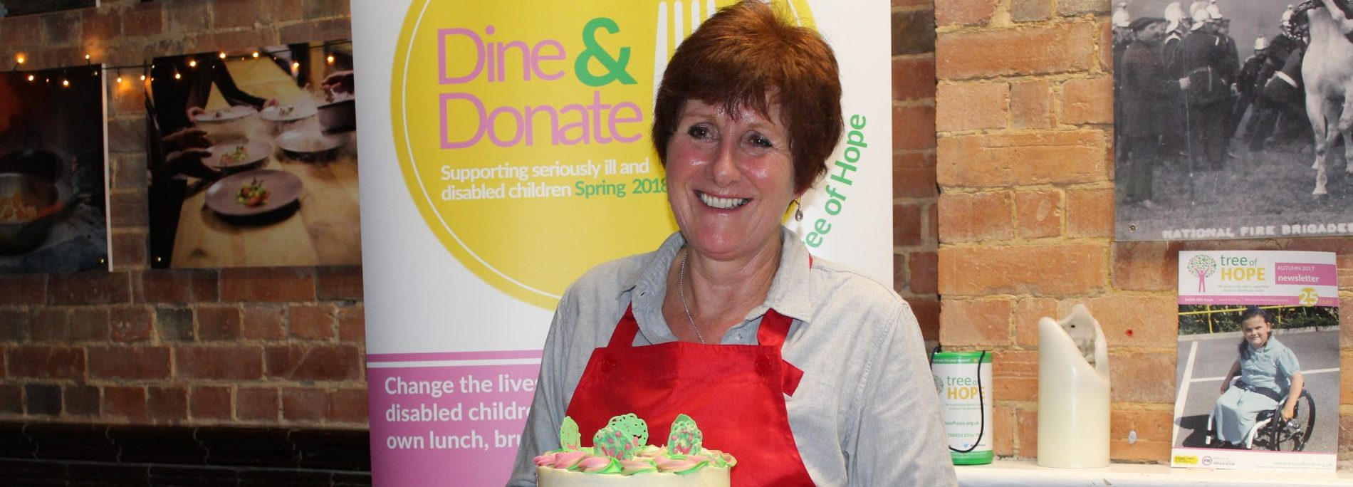 Jane Beedle Supports Dine and Donate