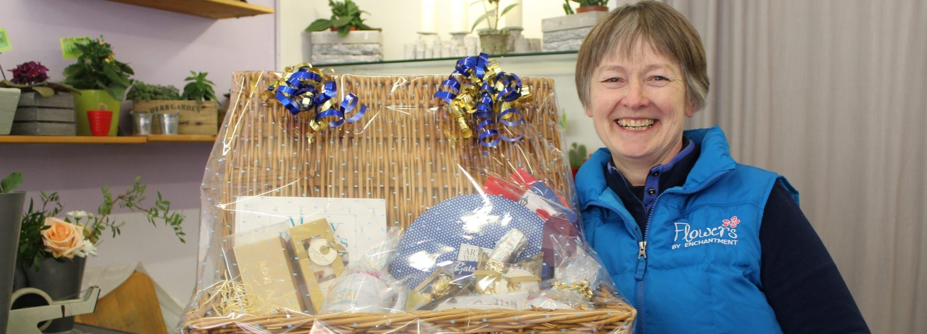Flowers By Enchantment. Index Mag hamper winner