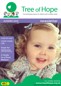 Summer Newsletter. Front Cover