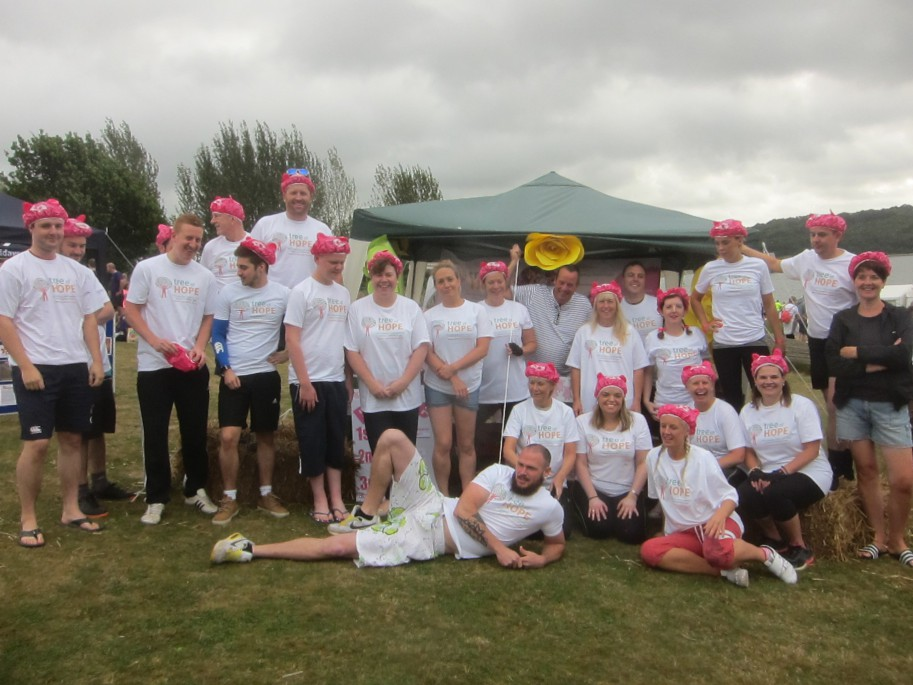 Marks and Spencer- Dragon Boat Racing