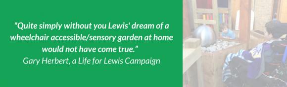 Lewis Testimonial