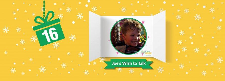 joes wish web banner