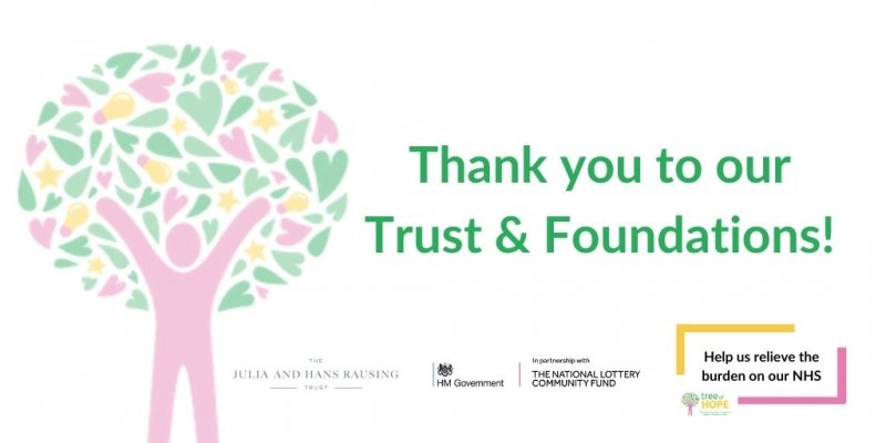 tree of hope thank you to our trust and foundation sponsors