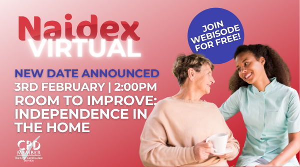 naidex virtual promotional poster